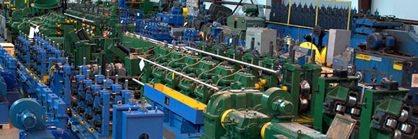 SECOND HAND TUBE MILLS , SLITTER , HF GENERATORS ETC